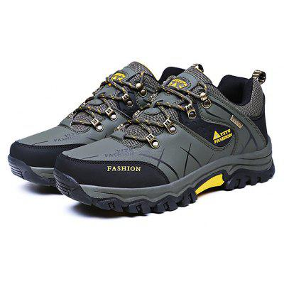 Male Soft Wearable Anti Slip Outdoor Hiking Sneakers