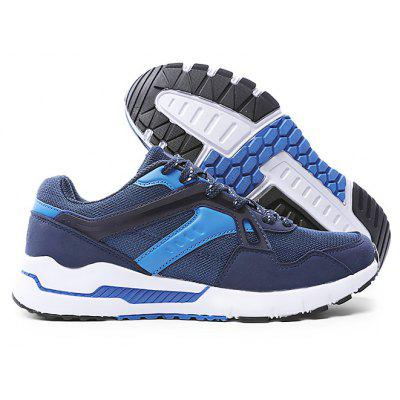 Buy DEEP BLUE 42 Male Breathable Soft Light Outdoor Running Athletic Shoes for $18.79 in GearBest store