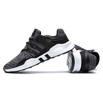 Buy GRAY 40 Male Breathable Soft Outdoor Running Athletic Shoes for $23.59 in GearBest store
