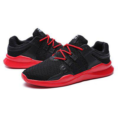 Masculino respirável suave ao ar livre Running Athletic Shoes