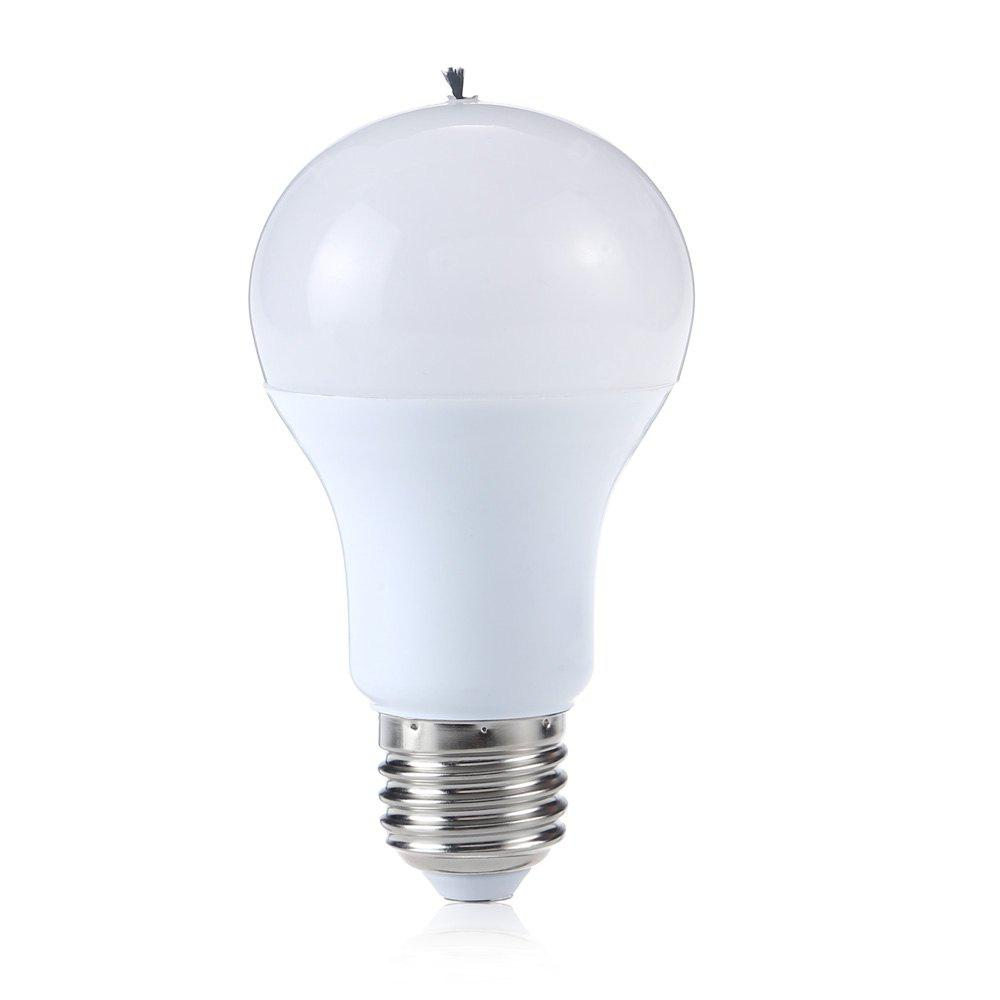 WHITE LIGHT A60 9W E27 850Lm 6500K LED Globe Bulb 220 240V