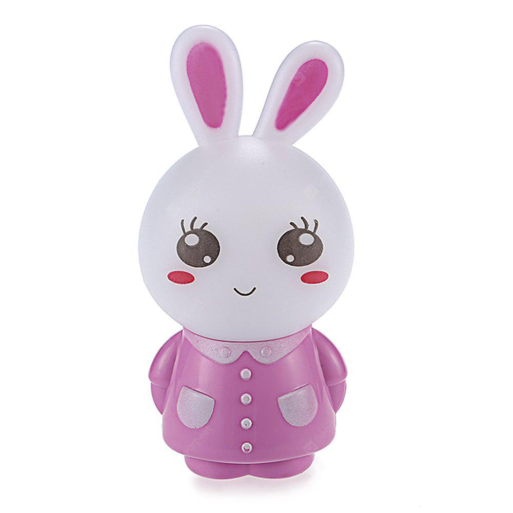 Cute Rabbit Light Sensor Plug-in LED Night Light Lamp
