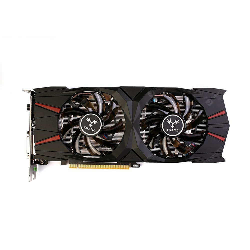 Farverigt NVIDIA GeForce GTX 1060 3G Video Grafikkort - BLACK