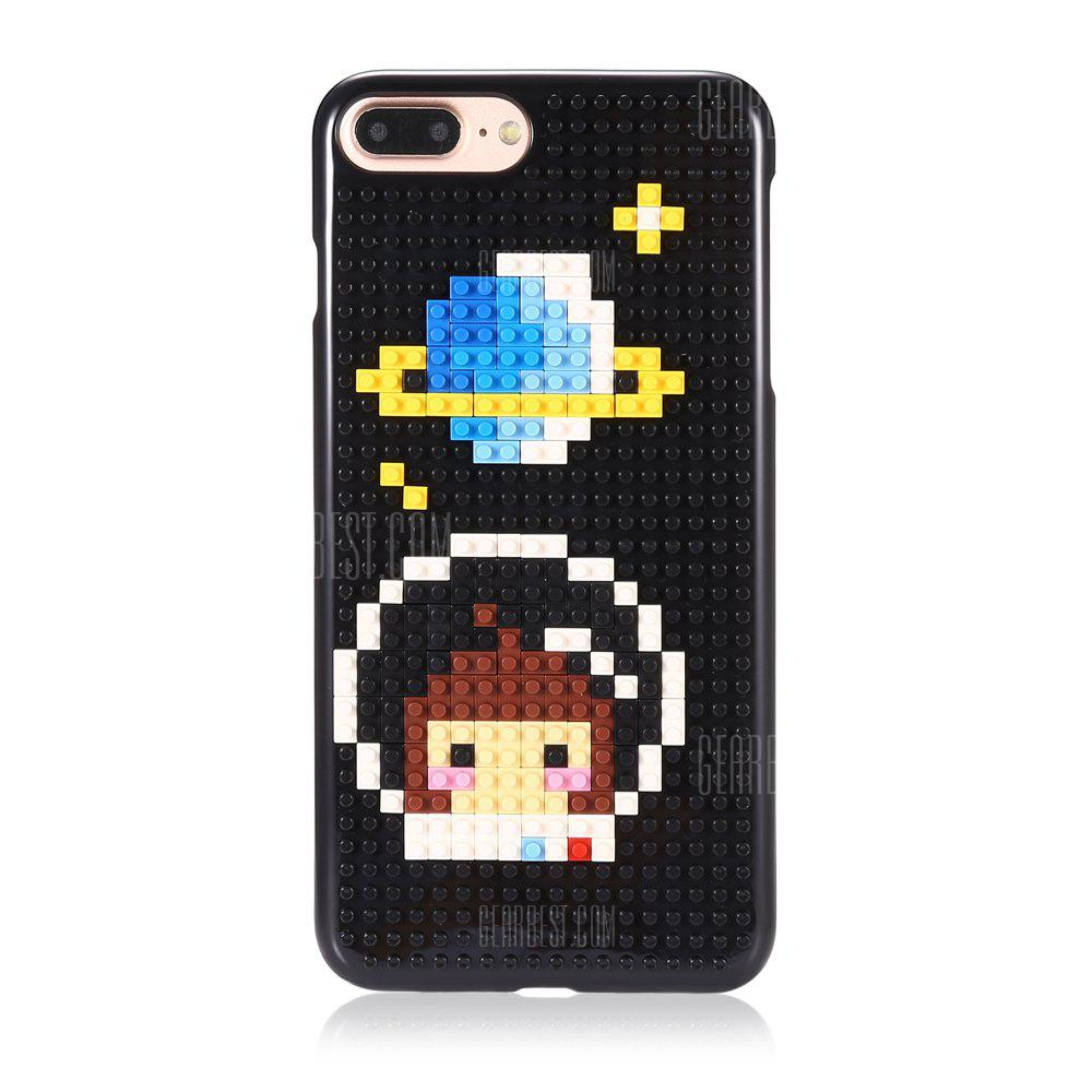 Star DIY Building Block Jigsaw Phone Case for iPhone 7 Plus