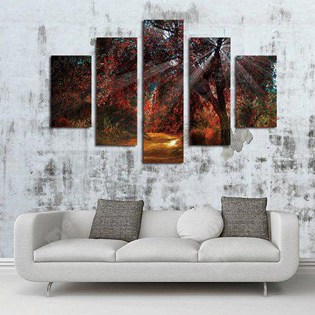 Unframed Prints Modern Canvas Maple Wall Art