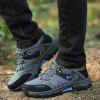 Male Soft Wearable Anti Slip Outdoor Hiking Sneakers - GRAY