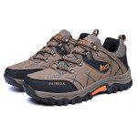 Male Soft Wearable Anti Slip Outdoor Hiking Sneakers - BROWN