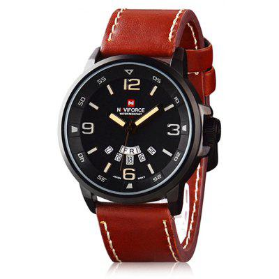 Naviforce 9028 Men Japan Quartz Watch