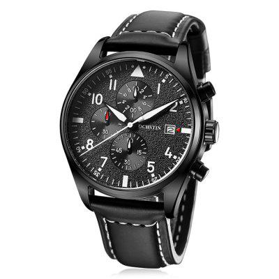 Купить со скидкой OCHSTIN Outdoor Working Sub-dial 3ATM Men Quartz Watch