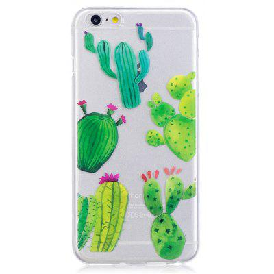 Cactus Pattern Design Phone Cover para iPhone 6 Plus / 6S Plus