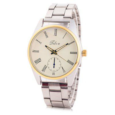 TILOV G4 19625 - 3 Steel Band Men Quartz Watch