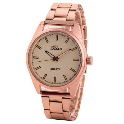 TILOV G4 19625 - 8 Steel Band Men Quartz Watch