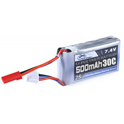 FULL SPEED 7.4V 500mAh 2S 30C LiPo Battery