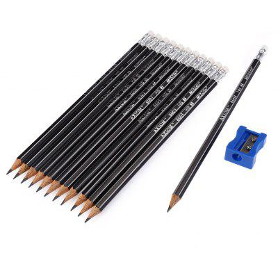 Marco 8001E HB Pencil for Drawing 12PCS