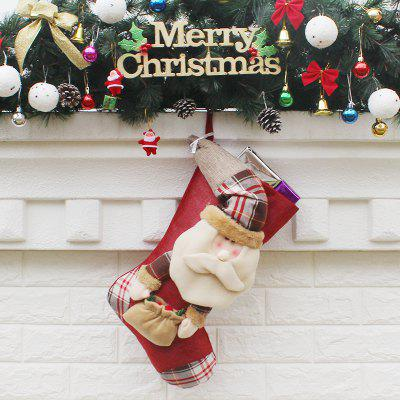 Christmas Stocking Adorable Santa Claus Hanging SockChristmas Supplies<br>Christmas Stocking Adorable Santa Claus Hanging Sock<br><br>For: Friends, Kids<br>Package Contents: 1 x Sock<br>Package size (L x W x H): 30.00 x 47.00 x 2.00 cm / 11.81 x 18.5 x 0.79 inches<br>Package weight: 0.1700 kg<br>Product size (L x W x H): 29.00 x 46.00 x 1.00 cm / 11.42 x 18.11 x 0.39 inches<br>Product weight: 0.1400 kg<br>Usage: Christmas