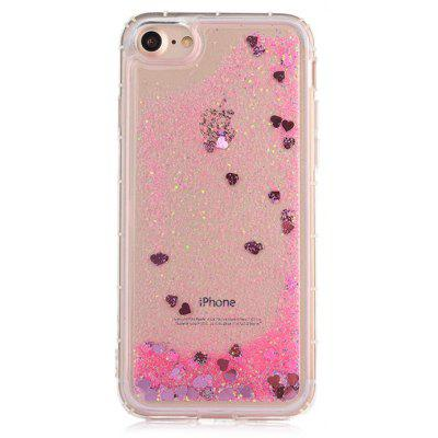 Glitter Powder Girl Phone Cover for iPhone 7
