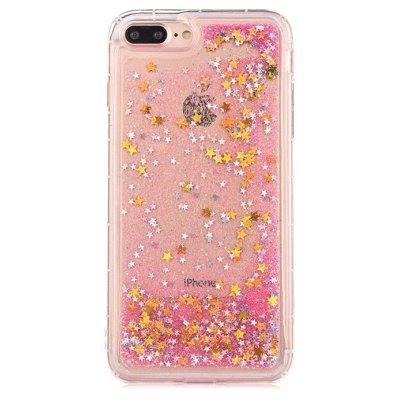 Bling Star Pink Quicksand Handy Tasche für iPhone 7 Plus