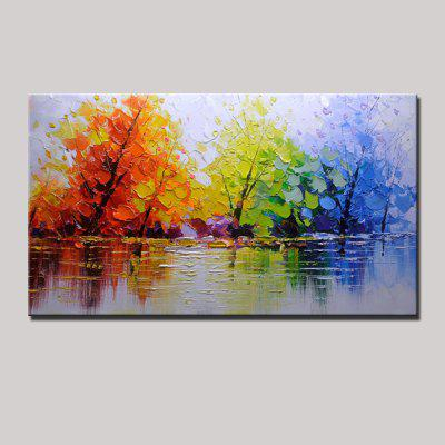 Mintura MT160020 Colorful Abstract Canvas Oil Painting