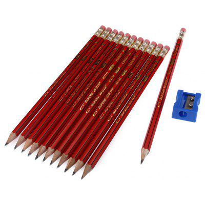 Marco 4218E HB Pencil for Drawing 12PCS