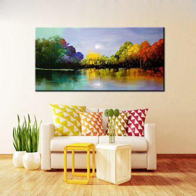 Mintura MT160038 Colorful Abstract Canvas Oil Painting