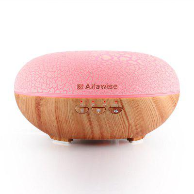 Buy Alfawise SJ 07C Humidifier Essential Oil Diffuser LIGHT WOOD for $66.99 in GearBest store