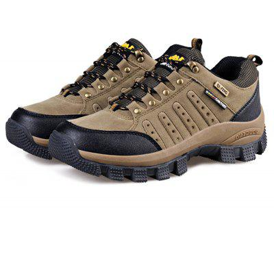 Buy KHAKI 45 QIFENGCAMEL Male Outdoor Light Wearable Athletic Shoes for $36.56 in GearBest store