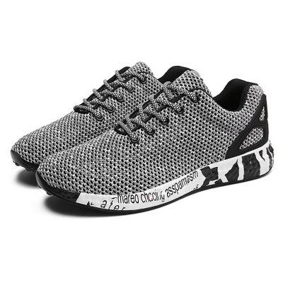 Masculino Stylish Respirável Wearable Light Sneakers