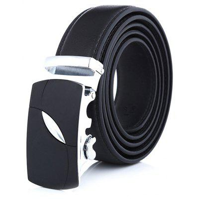 Business Trendy Automatic Buckle Trouser Belt for Men
