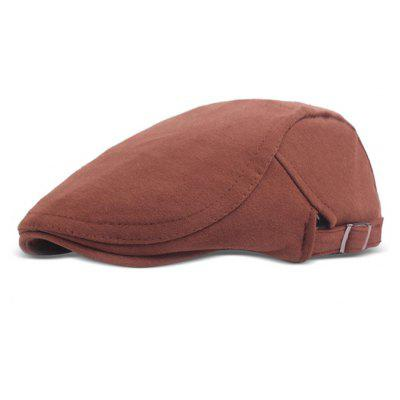 Buy COFFEE Adjustable Unisex Sunshade Beret Hat for $7.69 in GearBest store