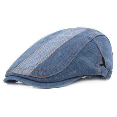 Comfortable Jeans Beret Hat for Men