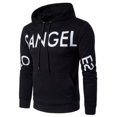 Stylish Long Sleeve Pullover Hoodie for Men