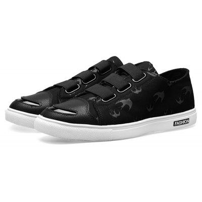 Male Casual Stylish Flat Velcro Strap Durable Shoes
