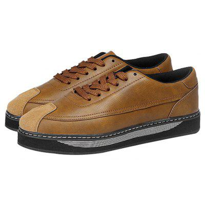 Male Stylish British Thick Soled Casual Shoes