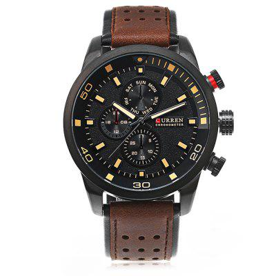 CURREN 8250 Casual Men Quartz Watch curren m8091