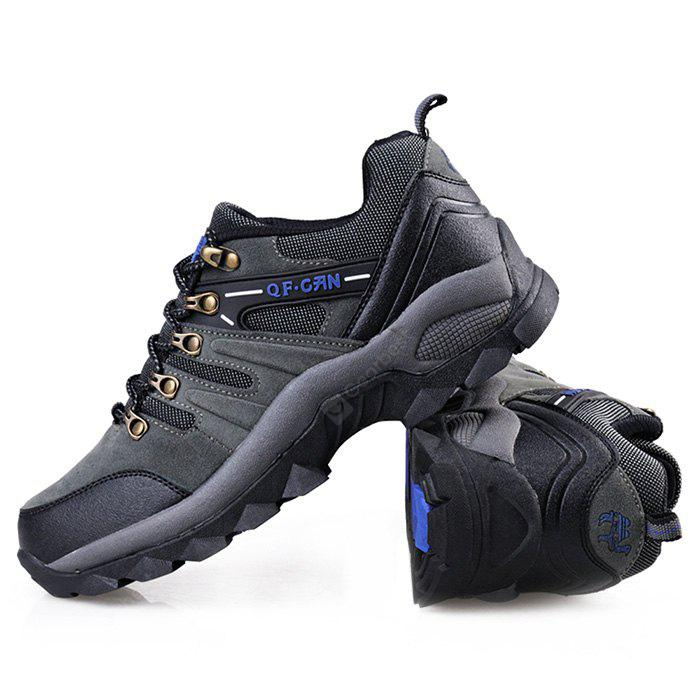 GRAY 43 QIFENGCAMEL Male Outdoor Hiking Light Athletic Shoes