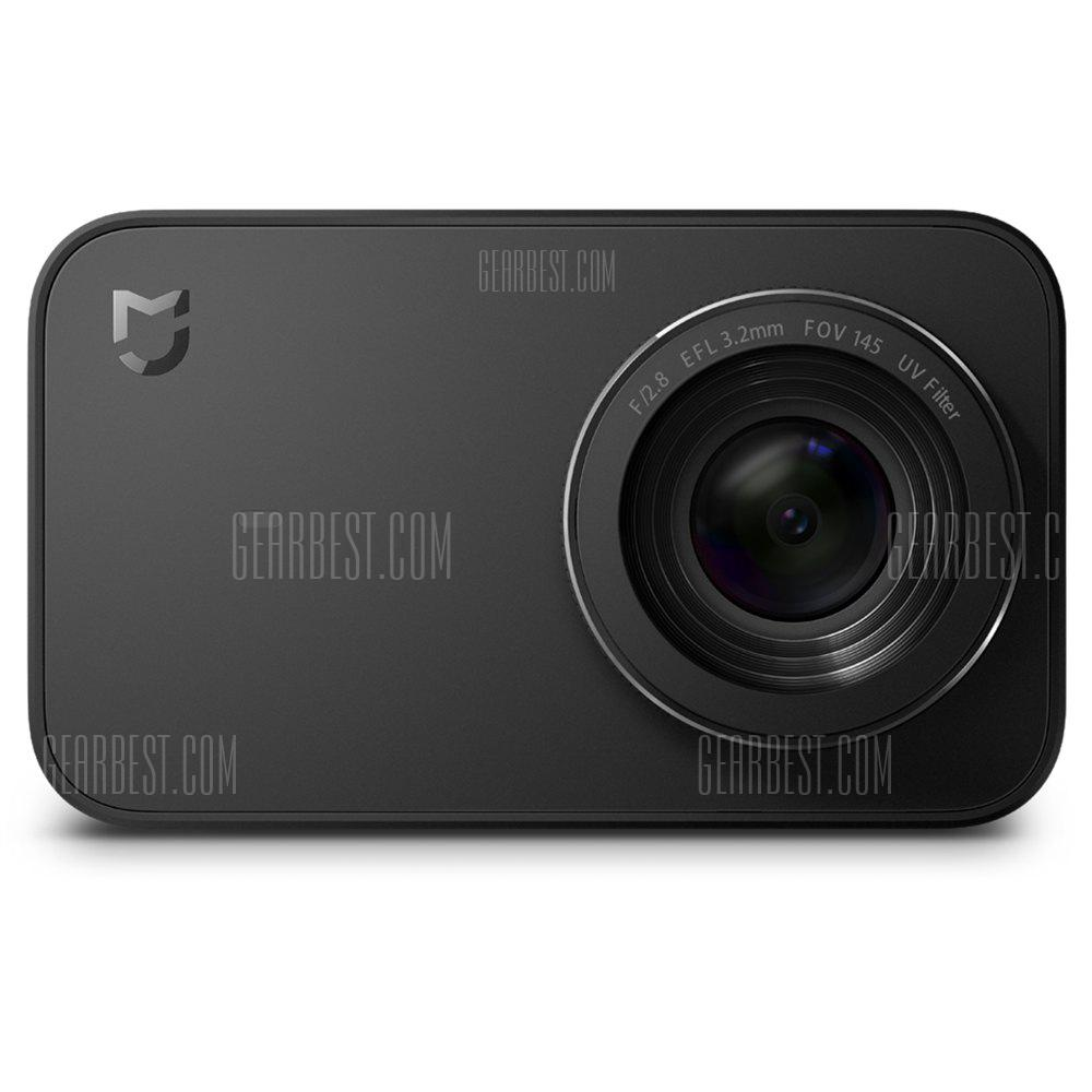 Xiaomi Mijia Mini Camera 4K 30fps Action Camera Touch Screen - NERO