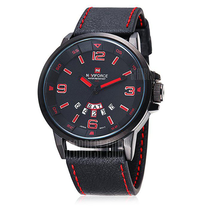 Naviforce 9028 Hommes Montre à Quartz Japon