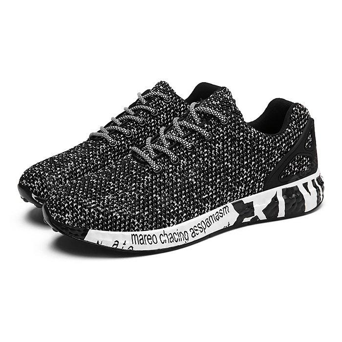 Male Stylish Breathable Wearable Light Sneakers
