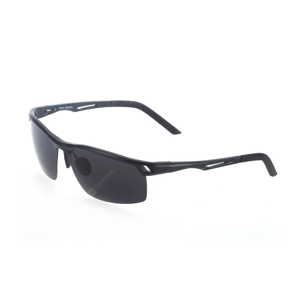 YiKang Y2331 Male Anti-UV Retro Polarized Cycling Glasses