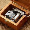 Wooden Hand Crank Music Box - COLORMIX