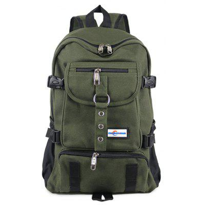 Buy ARMY GREEN Men Leisure Multifunctional Canvas Backpack for $20.93 in GearBest store