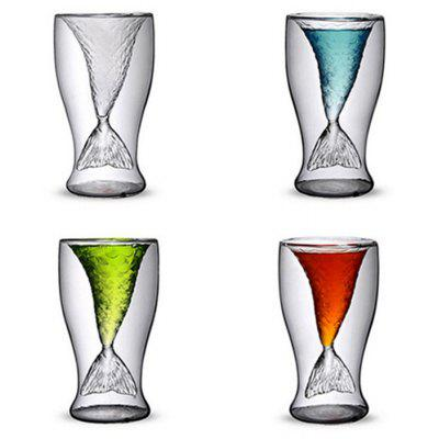 Mermaid Style Cocktail Glass