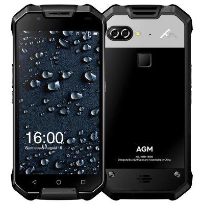 AGM X2 4G Phablet 128GB ROM - Black