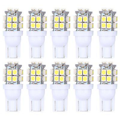 T10 20 SMD LED Blanco Luz de Coche Super Brillante - 10PCS