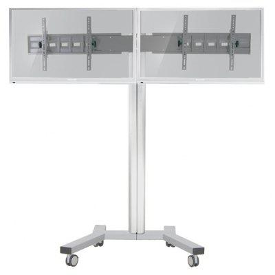 KOFORD AVA 202B Mobile Dual Monitor Mount Stand
