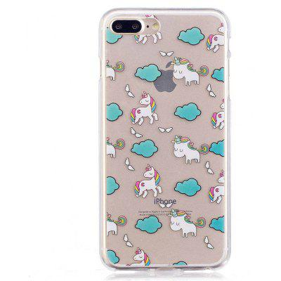 Unicorn Style TPU Soft Protective Case for iPhone 7 Plus