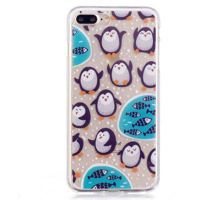 Penguin Style TPU Soft Protective Case for iPhone 7 Plus