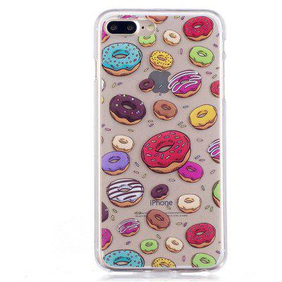 Doughnut Style TPU Soft Protective Case for iPhone 7 Plus