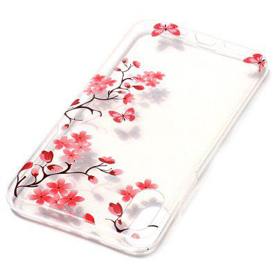 ASLING Maple Leaf TPU Soft Phone Case for iPhone X