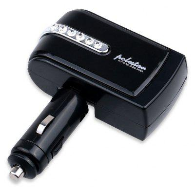 Two-port USB Car Cigarette Lighter Charger for Phone / GPS